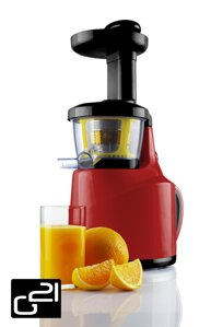 Odšťavňovač G21 Perfect Juicer, red